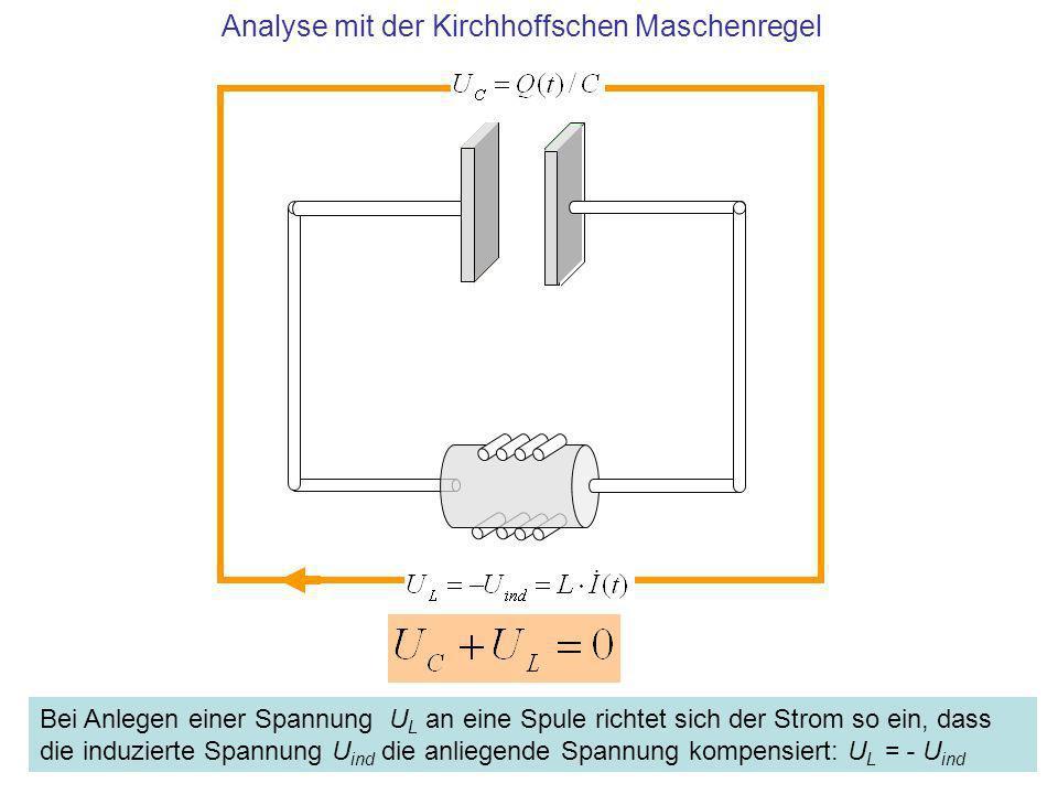 Analyse mit der Kirchhoffschen Maschenregel