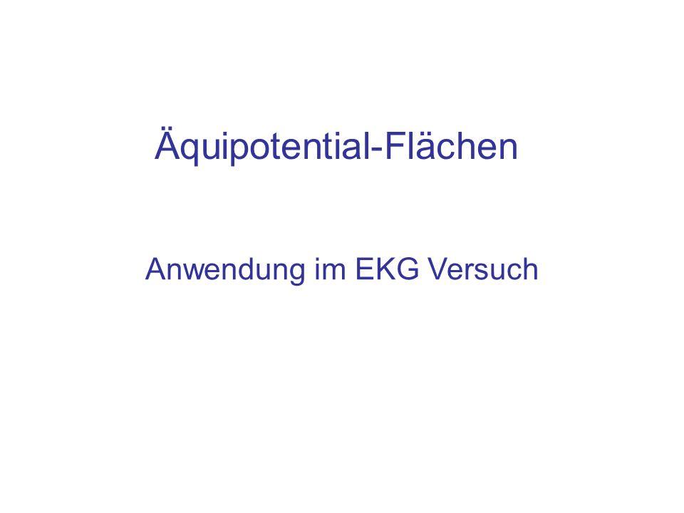 Äquipotential-Flächen