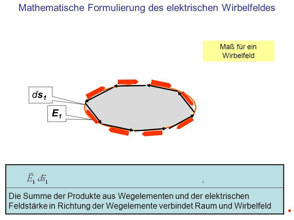 Mathematische Formulierung des elektrischen Wirbelfeldes