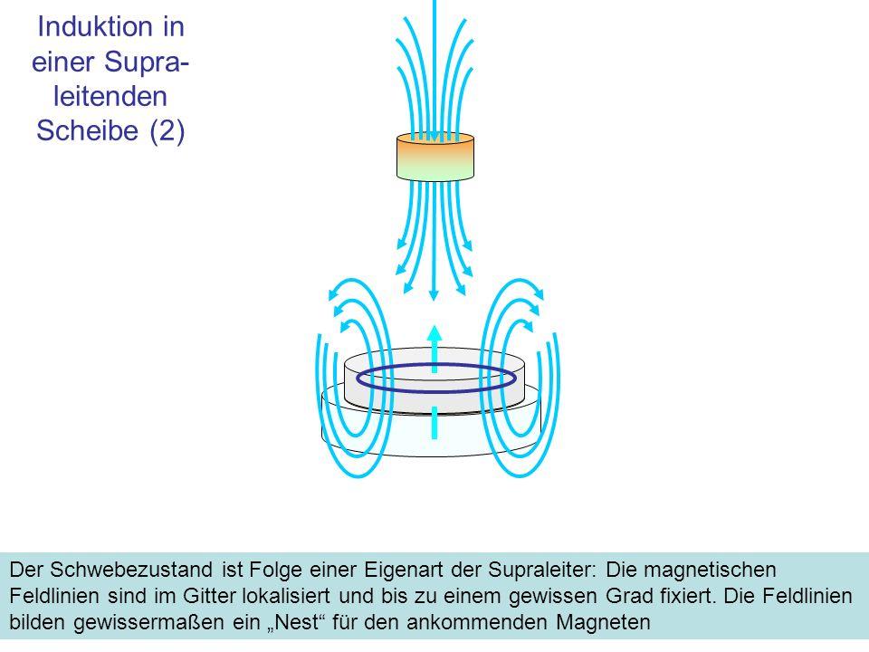 Induktion in einer Supra-leitenden Scheibe (2)
