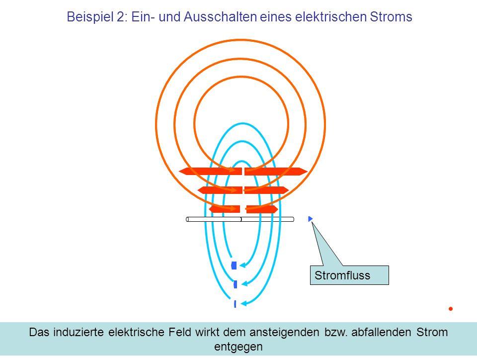 Beispiel 2: Ein- und Ausschalten eines elektrischen Stroms