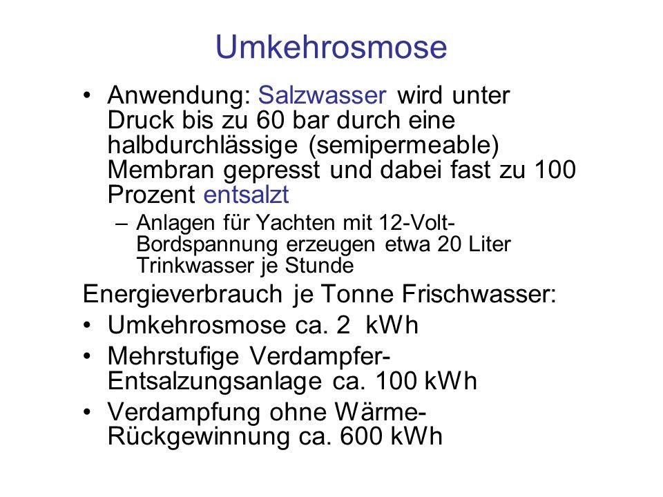 Umkehrosmose