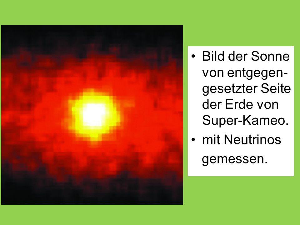 Bild der Sonne von entgegen-gesetzter Seite der Erde von Super-Kameo.