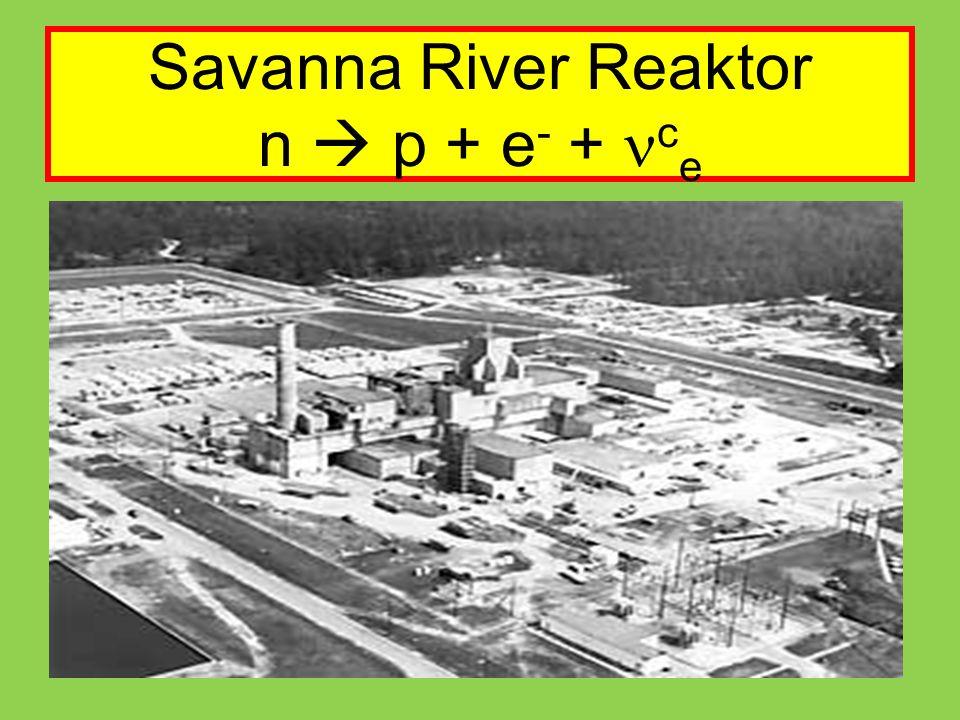 Savanna River Reaktor n  p + e- + nce