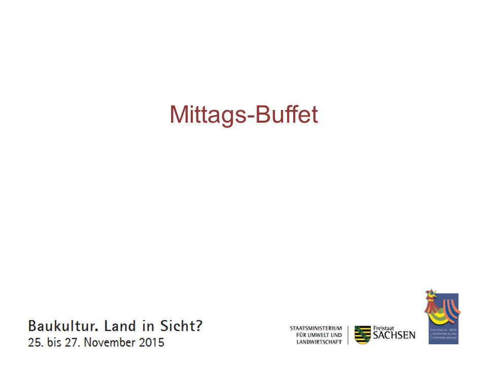 Mittags-Buffet
