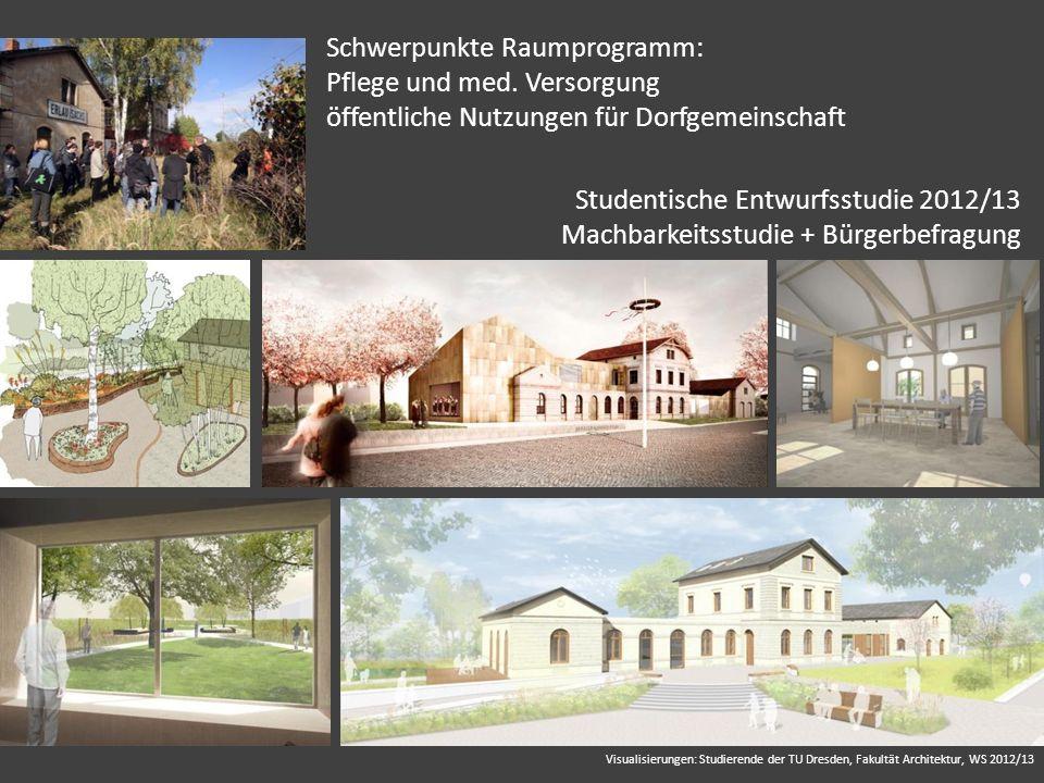 Studentische Entwurfsstudie 2012/13