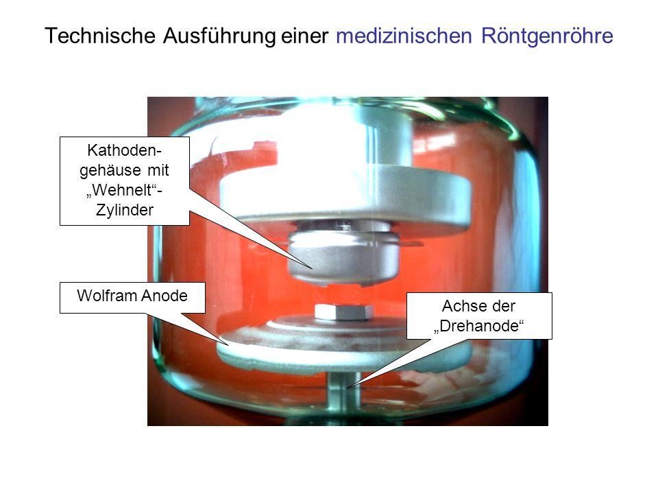 Technische Ausführung einer medizinischen Röntgenröhre