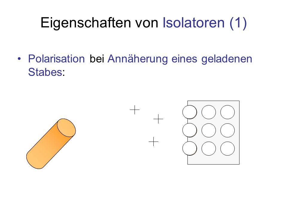 Eigenschaften von Isolatoren (1)