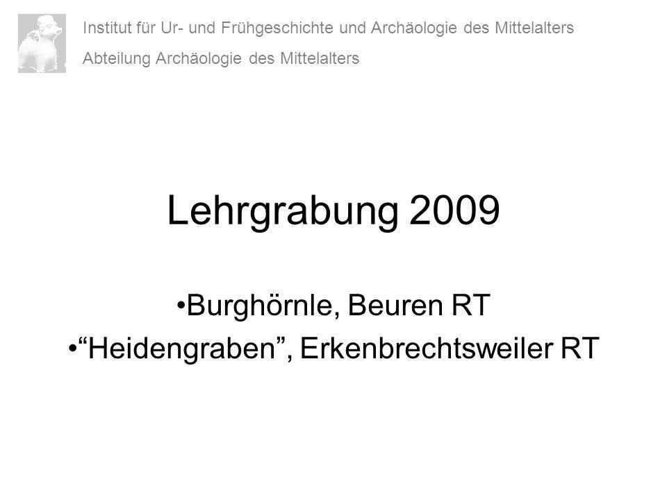 Burghörnle, Beuren RT Heidengraben , Erkenbrechtsweiler RT