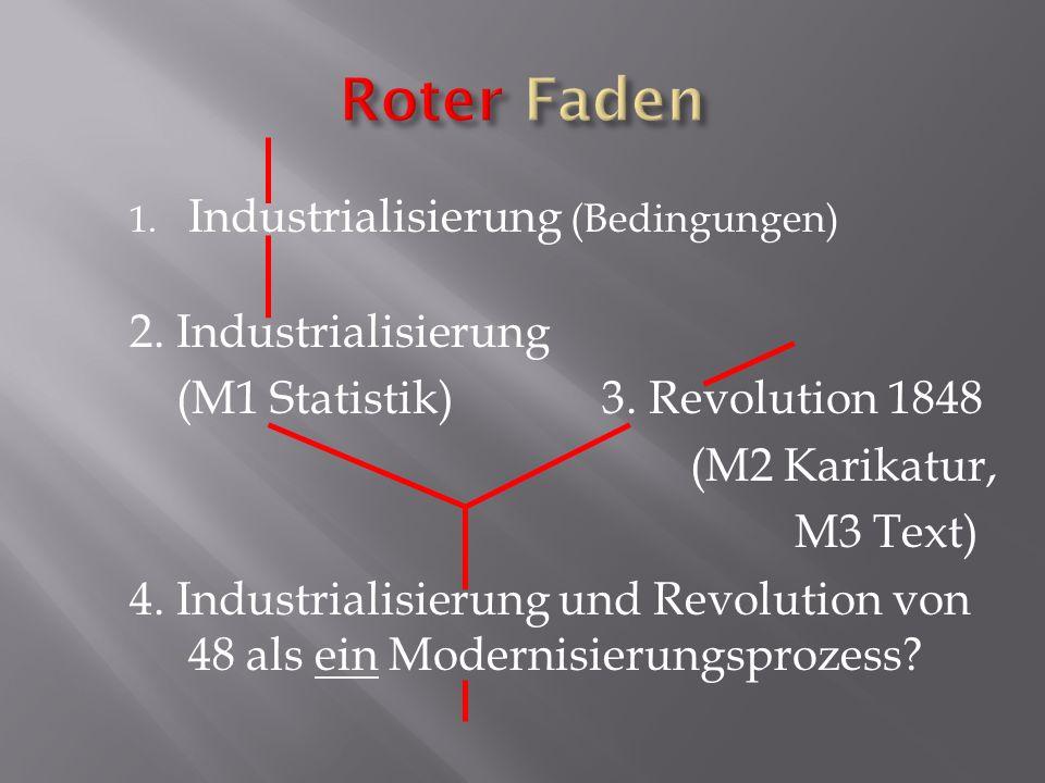 Roter Faden Industrialisierung (Bedingungen) 2. Industrialisierung