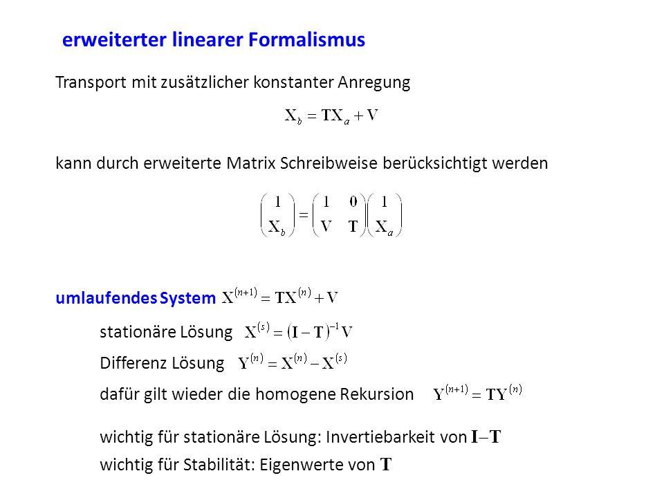 erweiterter linearer Formalismus