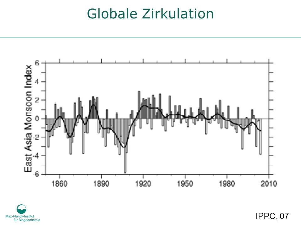 Globale Zirkulation IPPC, 07