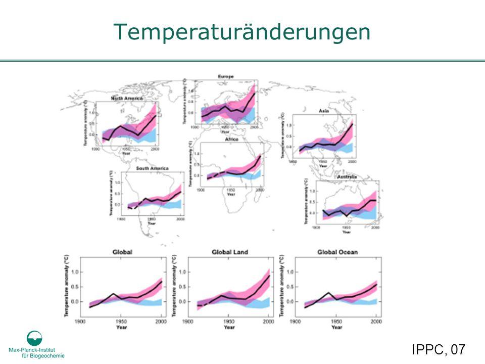 Temperaturänderungen