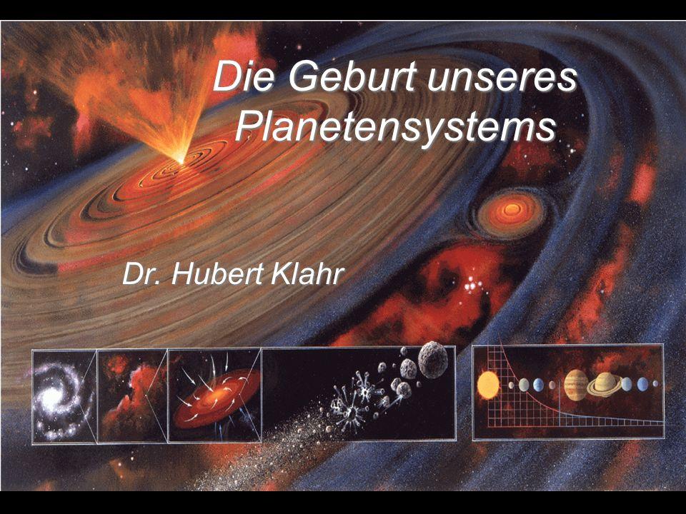 Die Geburt unseres Planetensystems