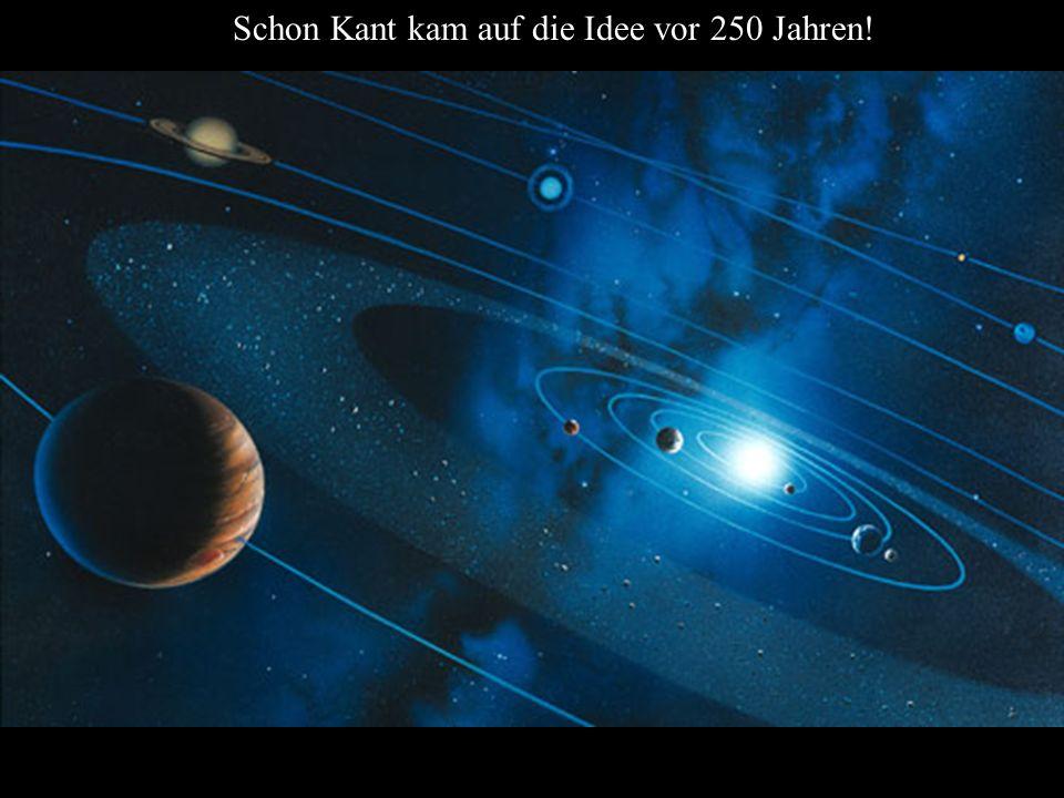 Schon Kant kam auf die Idee vor 250 Jahren!