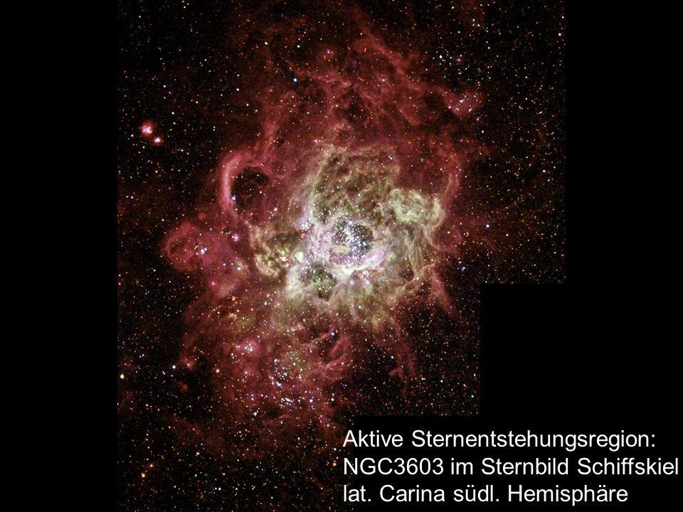 Aktive Sternentstehungsregion: