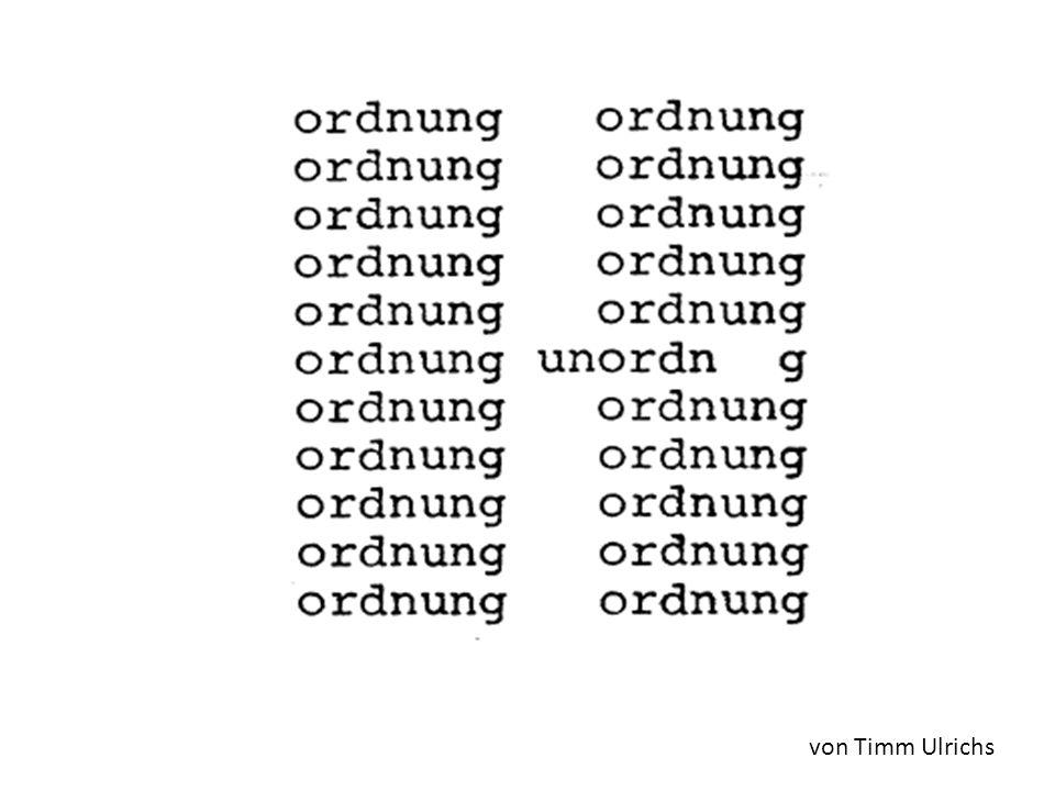 von Timm Ulrichs