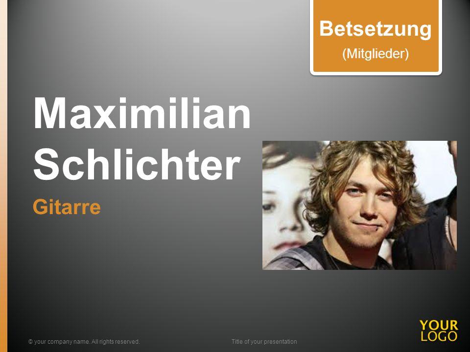 Maximilian Schlichter