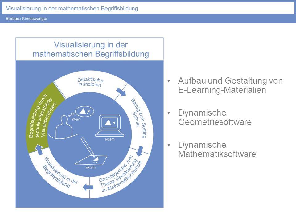 Aufbau und Gestaltung von E-Learning-Materialien