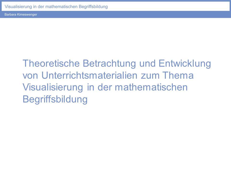 Theoretische Betrachtung und Entwicklung von Unterrichtsmaterialien zum Thema Visualisierung in der mathematischen Begriffsbildung