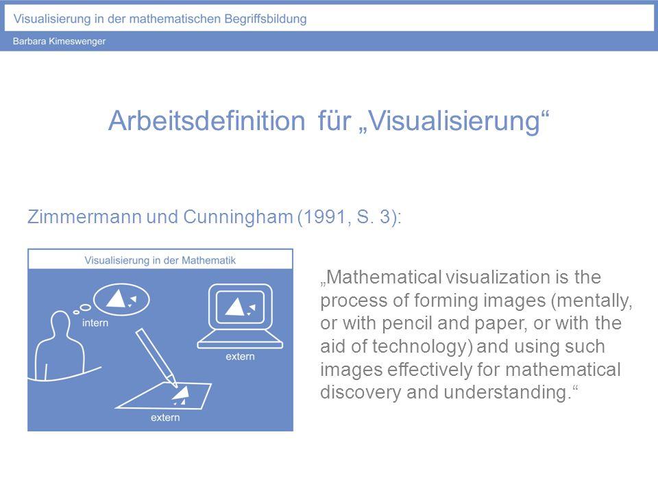 """Arbeitsdefinition für """"Visualisierung"""