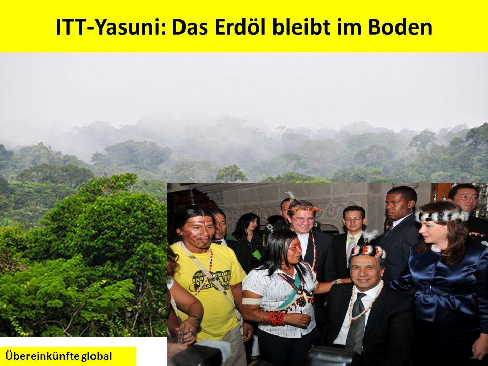 ITT-Yasuni: Das Erdöl bleibt im Boden