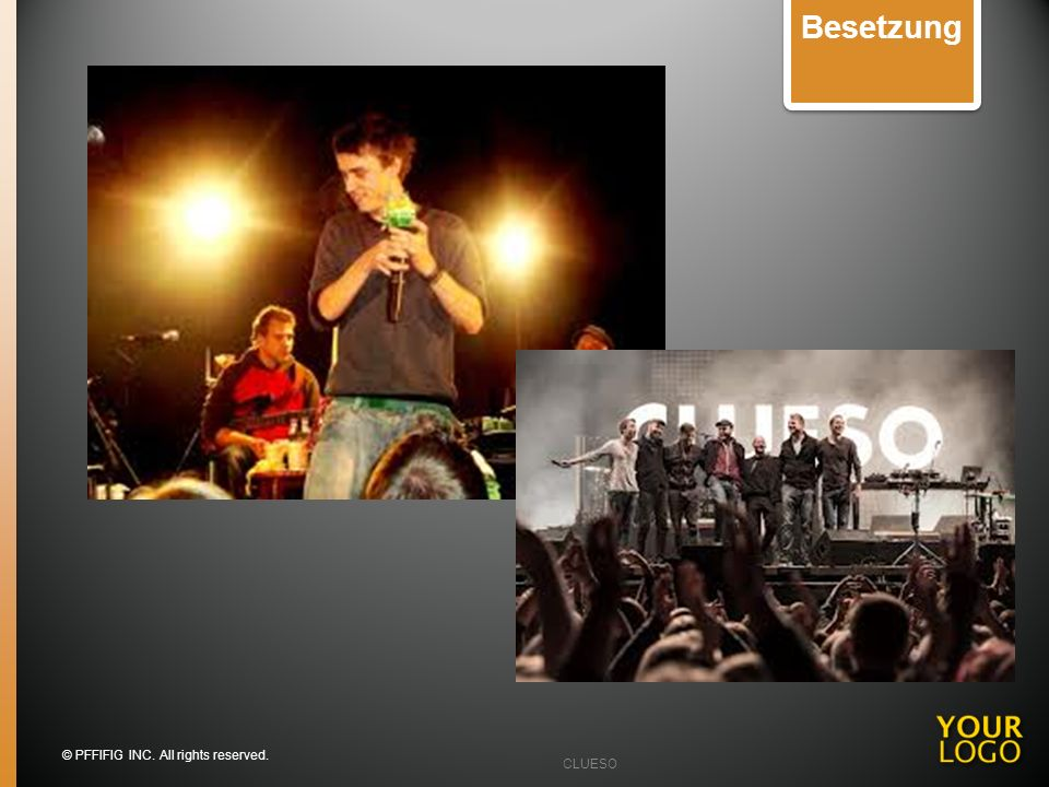 Besetzung Image slides You may want to add band photos