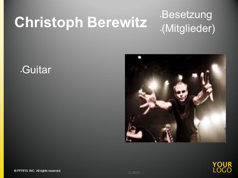 Christoph Berewitz Besetzung (Mitglieder) Guitar Going into detail