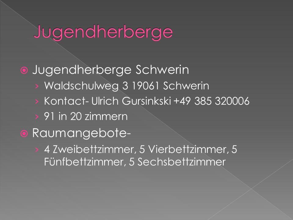 Jugendherberge Jugendherberge Schwerin Raumangebote-