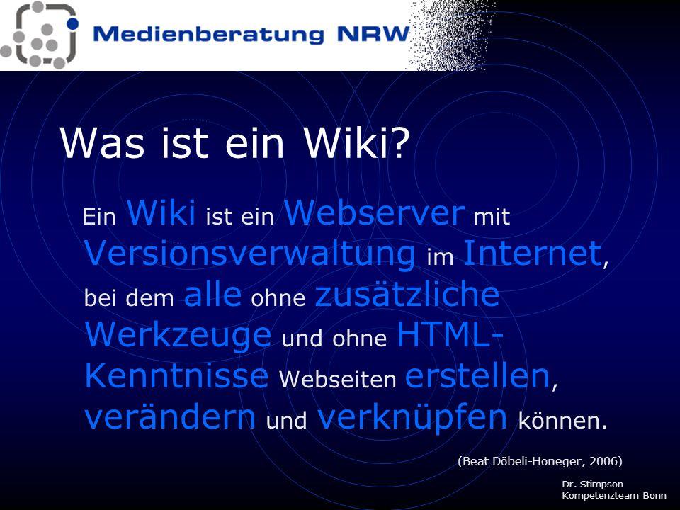 Was ist ein Wiki