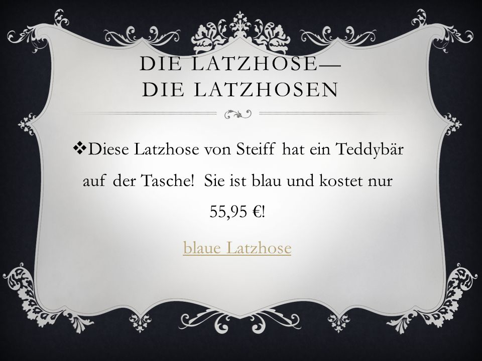 DIE Latzhose— DIE LATZHOSEN
