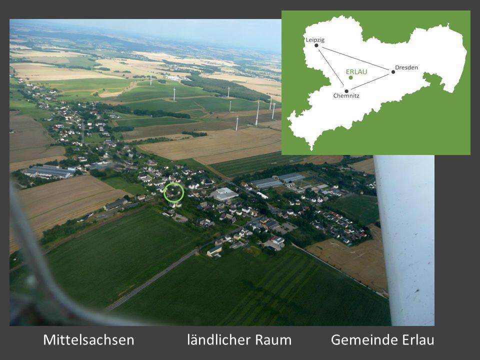 Mittelsachsen ländlicher Raum Gemeinde Erlau