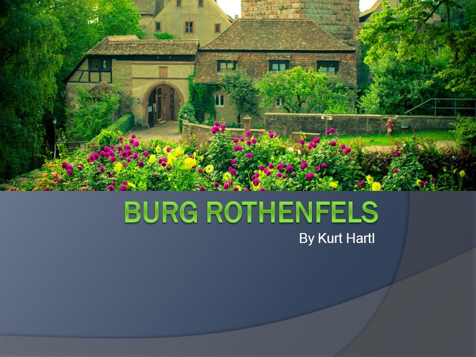 Burg Rothenfels By Kurt Hartl