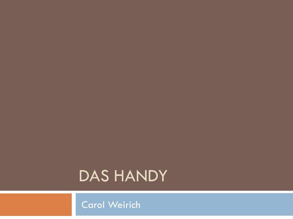 Das Handy Carol Weirich