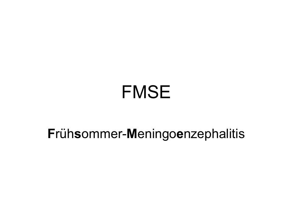 Frühsommer-Meningoenzephalitis