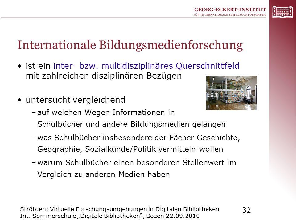 Internationale Bildungsmedienforschung