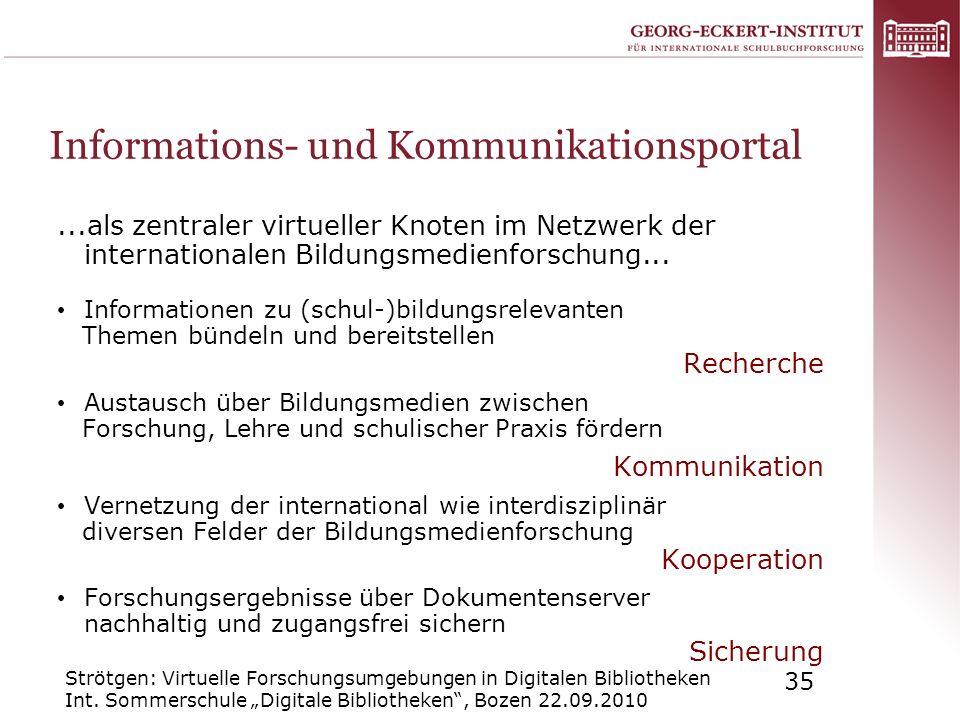 Informations- und Kommunikationsportal