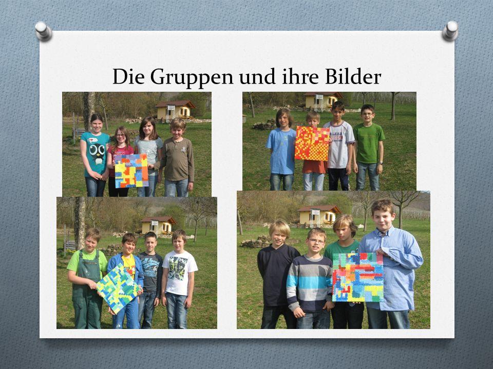 Die Gruppen und ihre Bilder