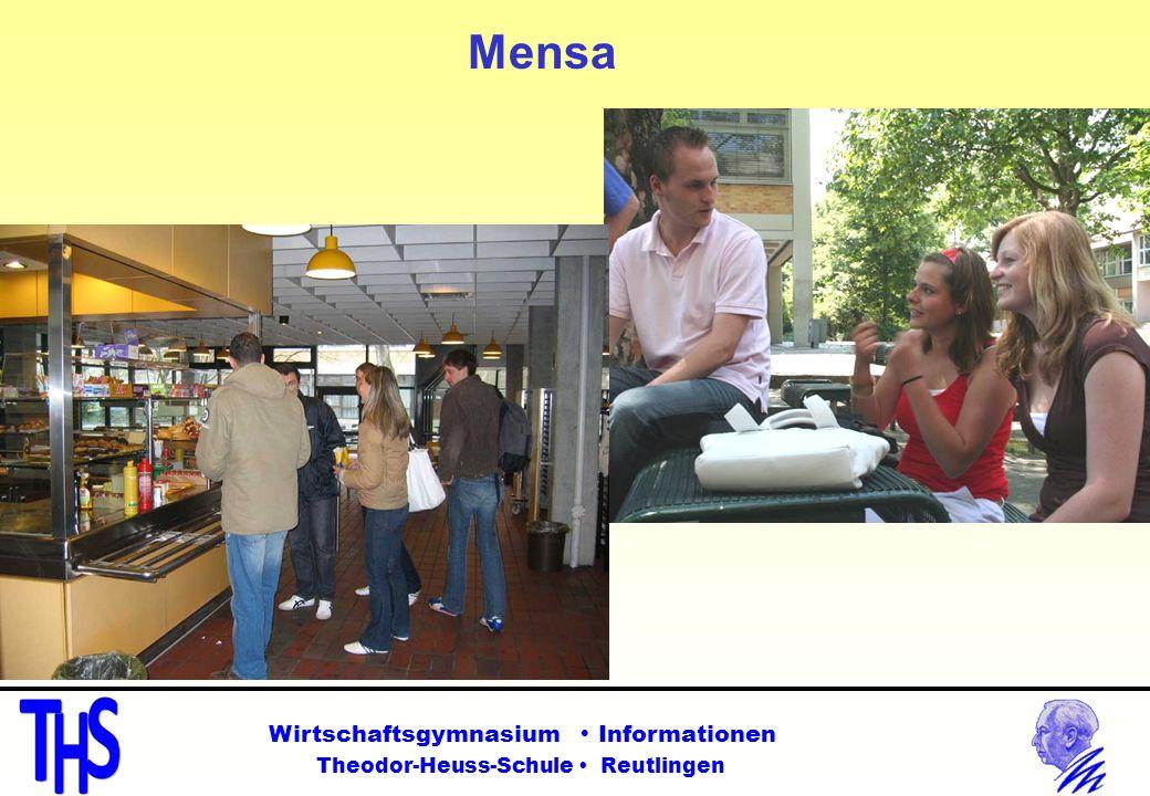Mensa Wirtschaftsgymnasium  Informationen