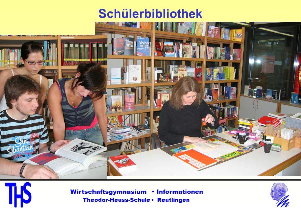 Schülerbibliothek Wirtschaftsgymnasium  Informationen