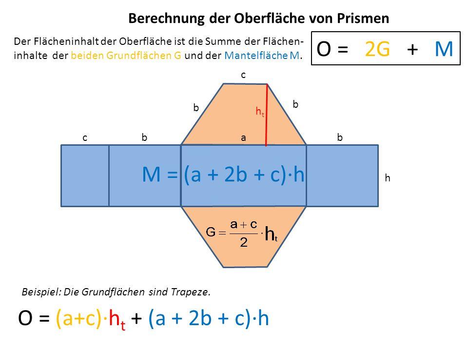O = (a+c)∙ht + (a + 2b + c)∙h