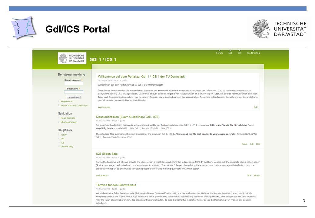 GdI/ICS Portal 3