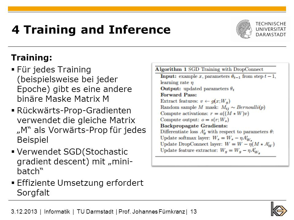 4 Training and Inference