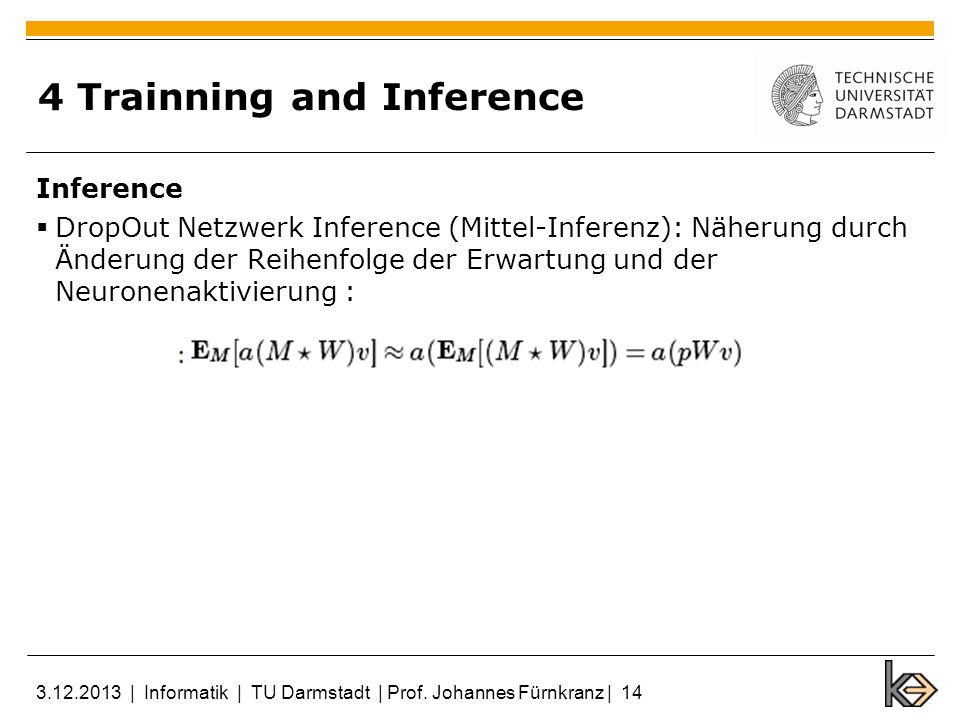 4 Trainning and Inference