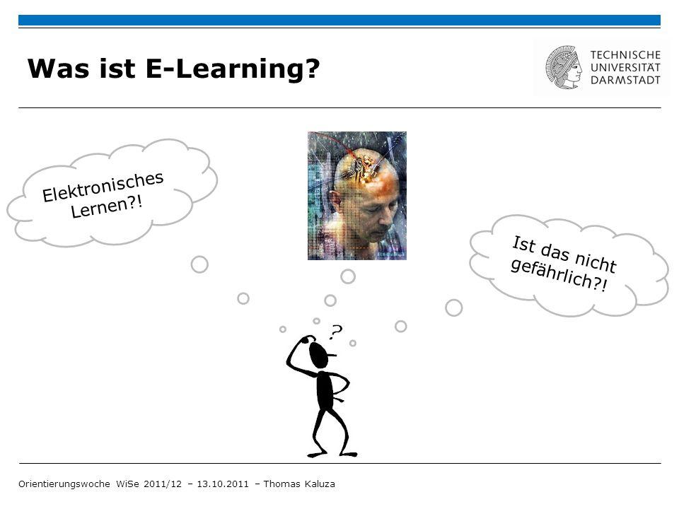 Was ist E-Learning Elektronisches Lernen ! Ist das nicht gefährlich !