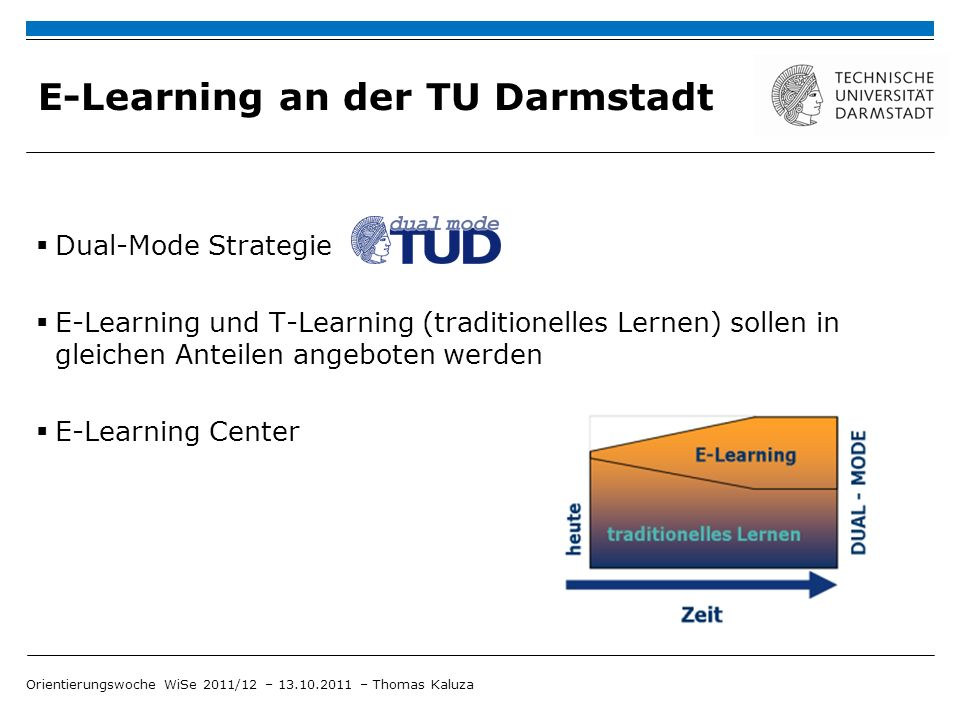 E-Learning an der TU Darmstadt