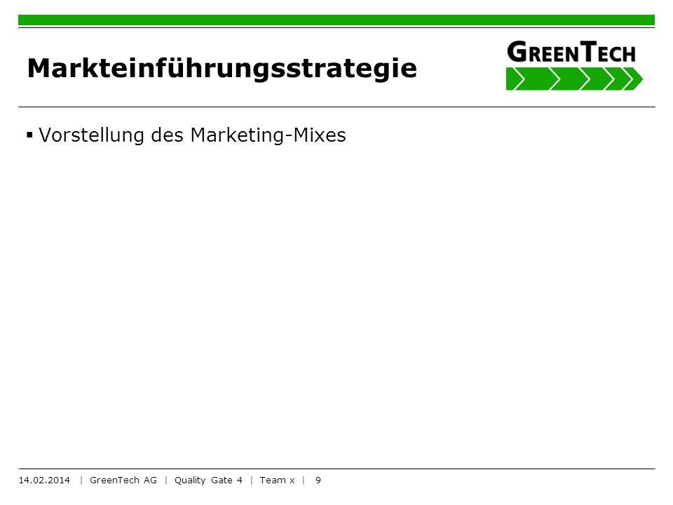 Markteinführungsstrategie
