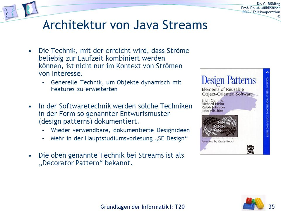 Architektur von Java Streams