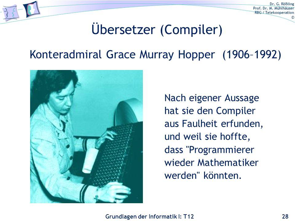 Übersetzer (Compiler)