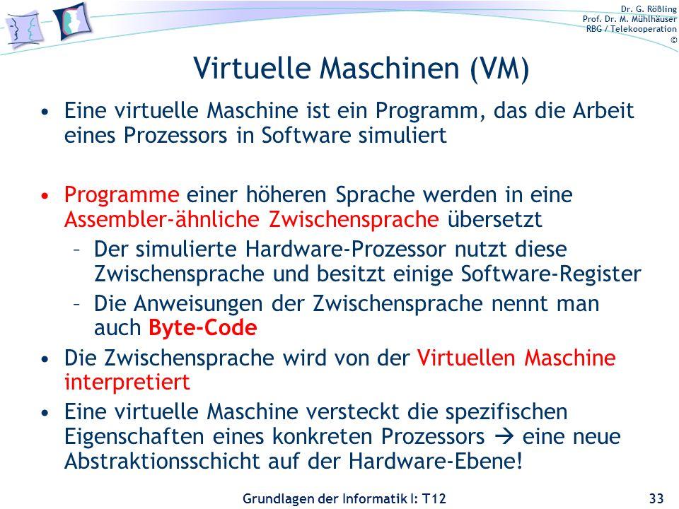 Virtuelle Maschinen (VM)